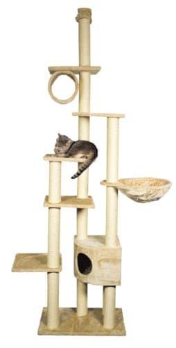 Deckenspanner Kratzbaum Madrid, Trixie, deckenhoch, 245-270 cm -