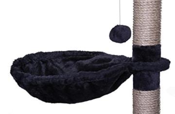 Deckenspanner Kratzbaum dibea deckenhoch mit Liegemulde, grau
