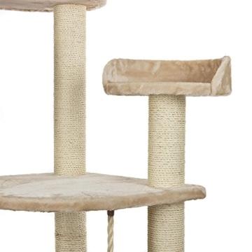 Happypet® CAT021 Kratzbaum Katzenbaum mittelhoch 1,86 m hoch Beige - 6