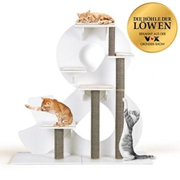 design kratzbaum von kletterletter bekannt aus die h hle des l wen. Black Bedroom Furniture Sets. Home Design Ideas