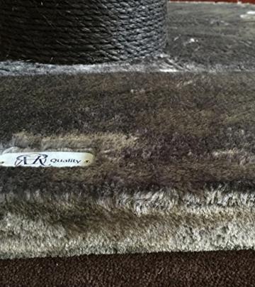 Kratzbaum große katze XXL Maine Coon Tower Blackline Anthrazit. Stämme 20cm Ø. Speziell für große und schwere Katzen. Deckenhoch. Von RHRQuality - 6