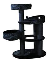 Trixie 43467 Kratzbaum Filippo, 114 cm, schwarz/anthrazit - 1