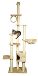 Deckenspanner Madrid Kratzbaum, deckenhoch, 245-270 cm, beige - 1