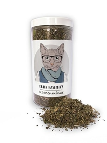 Katzenminze Catnip für Katzen, 60g XXL-Pack