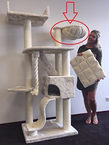 Liegemulde de Luxe für Katzen Kratzbaum 45 cm RHRQuality 2