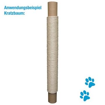 Sisal-Seil Ø 10 mm, 50 Meter, für Kratzbaum, Grevinga 3