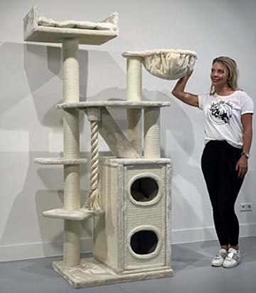 RHRQuality Kratzbaum Cat Penthouse - stabil und hochwertig