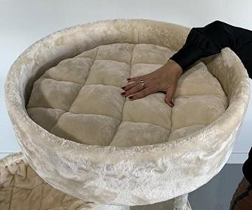 Kratzbaum XXL Sleeper de Luxe Katzenbett von RHRQuality